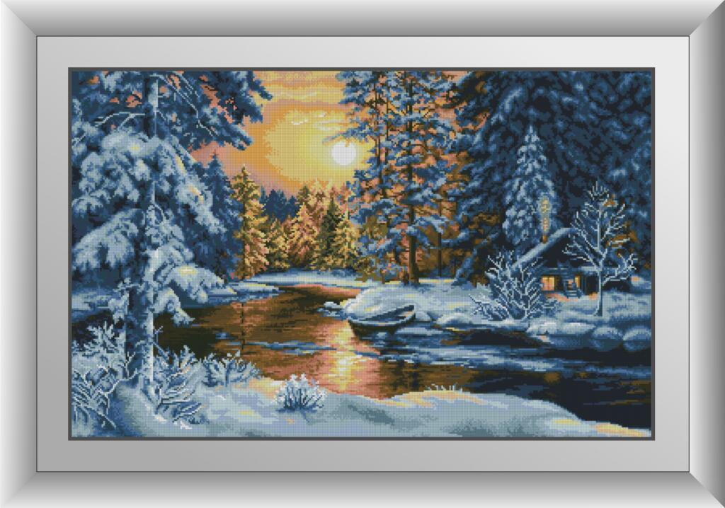 Набор алмазной мозаики Зимняя сказка Dream Art 30874 (57 x 90 см)
