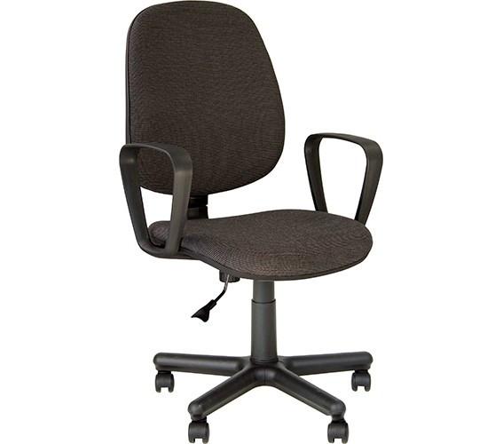Офисное кресло с подлокотниками FOREX GTP C-26 черно- серое от Nowy Styl
