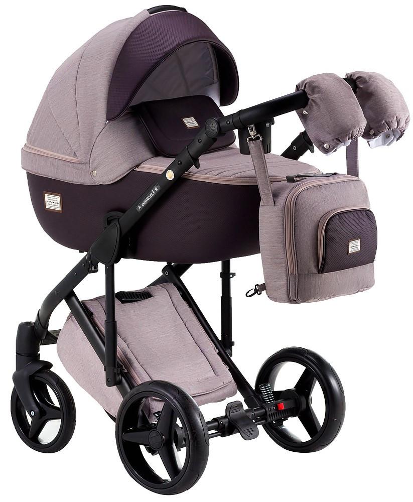 Детская универсальная коляска 2 в 1 Adamex Luciano Y59