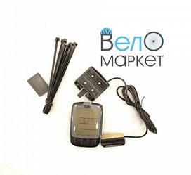 Велоспидометр SunDing SD-563А c підсвічуваннями і термометром , 27 функції