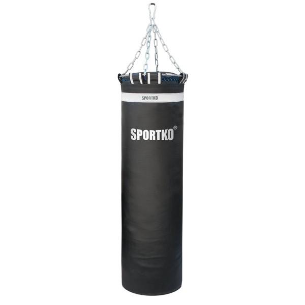 Мешок боксерский Олимпийский SPORTKO с кольцом высота 130 диаметр 35 вес 50кг, под заказ, 10 дней