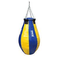 Груша боксерская SPORTKO каплевидная с кольцом, под заказ, 7 дней