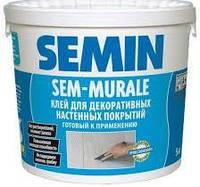 Клей для склошпалерів Sem-Murale Semin, відро 10 кг.