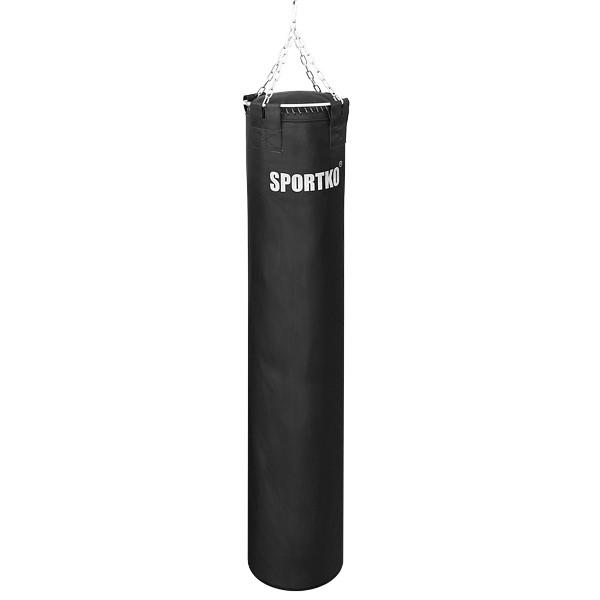 Мешок боксерский SPORTKO ременная кожа (3,5мм-4мм) Высота 200 см. Диаметр 35 см. Вес 90 кг., под заказ, 10 дней