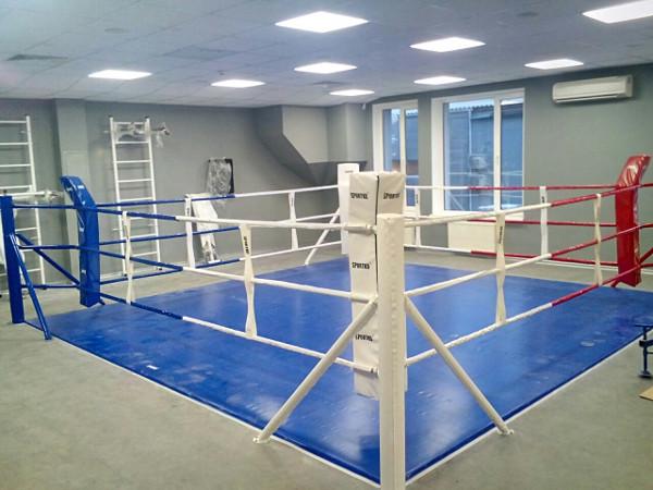 Ринг напольный SPORTKO 4х4м по канатам 3х3м, под заказ, 20 дней