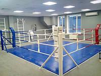 Ринг напольный SPORTKO 4,5х4,5м по канатам 3,5х3,5м, под заказ, 20 дней