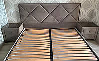 Кровать Денвер серии Глейд без матраса с подъемным механизмом и ящиком для белья