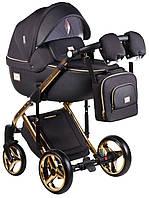 Детская универсальная коляска 2 в 1 Adamex Luciano Polar Graphite Y85