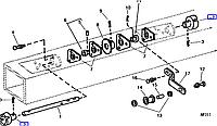 Муфта соединительная  John Deere A26684