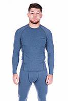 Мужская термофутболка Totalfit Sport TMR3 XXL Голубой с серым
