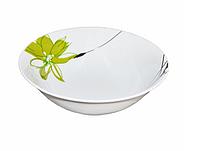 "Салатник ""Зеленый цветок"" 500мл (фарфор)"