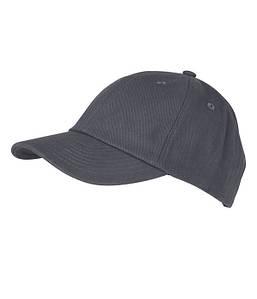 6 Панельная кепка Тёмно-Серый