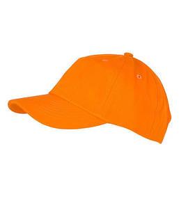 6 Панельная кепка Оранжевый