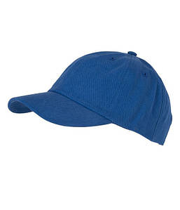 6 Панельная кепка Ярко-Синий