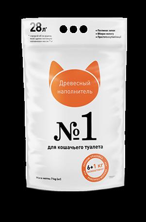 Древесный наполнитель для кошачьего туалета Super Cat №1 3 кг