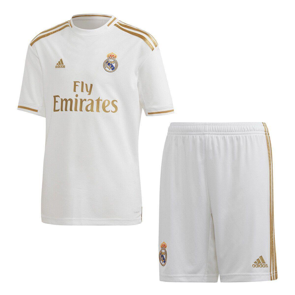 Футбольная форма Реал Мадрид, дом/белый (Real Madrid) сезон 19/20