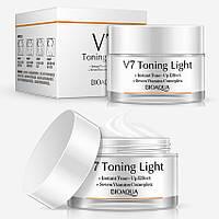 Витаминный крем для яркости кожи BIOAQUA V7 Toning Light Cream, 50 г