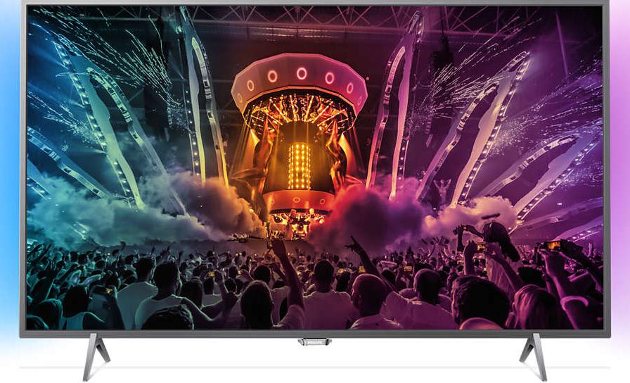 Телевизор Philips 43PUS6401/12 (60Гц, 4K UltraHD, Smart, Pixel Plus Ultra HD, Micro Dimming, DVB-С/T2/S2)
