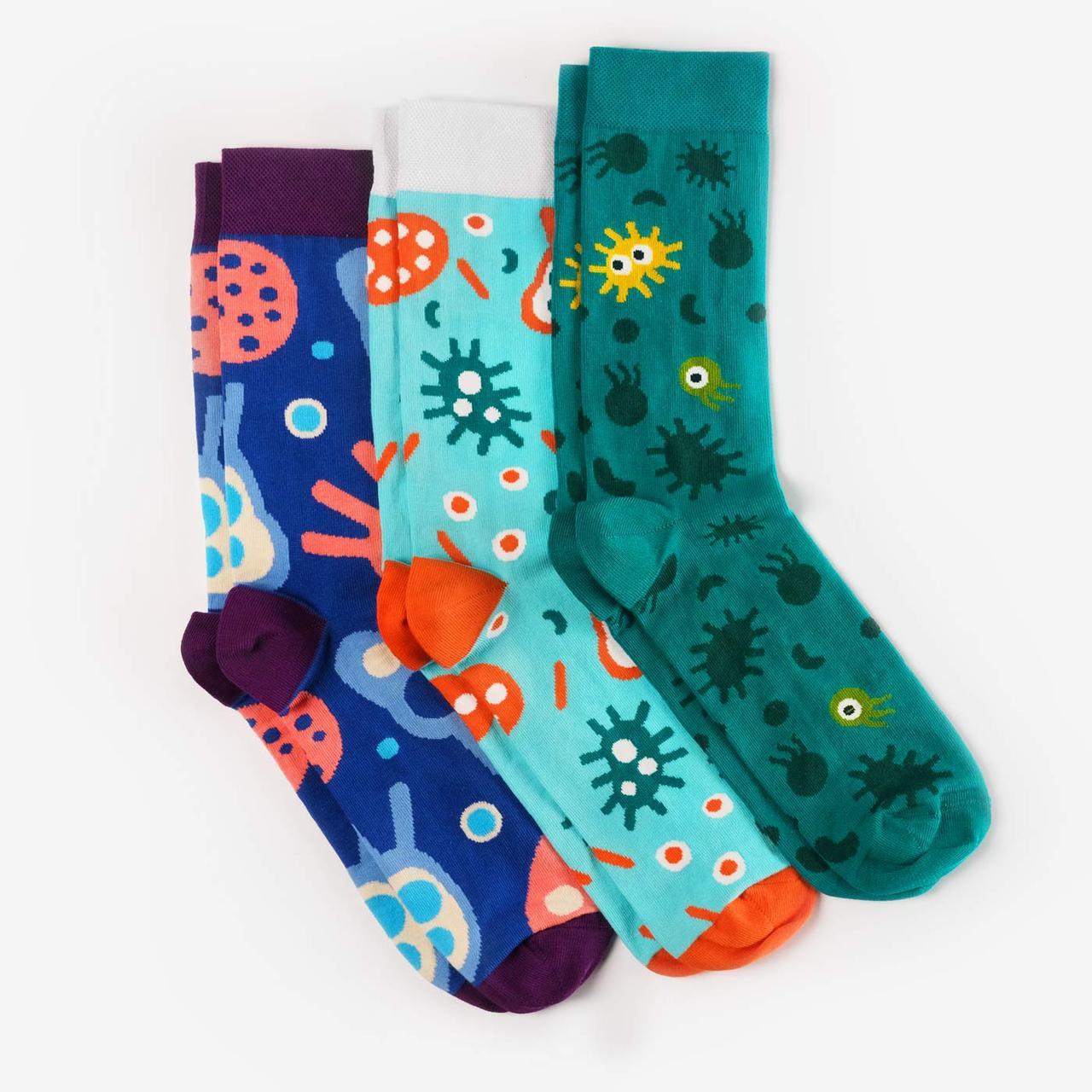 Шкарпетки Dodo Socks набір Micro 36-38, 3 шт