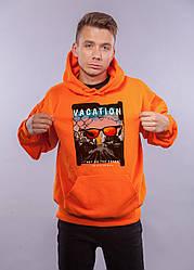 """Толстовка Оранжевая LOYS """"Vocation"""" XXL"""