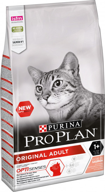 Сухой корм для котов Purina Pro Plan Original Adult Salmon 10 кг