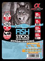 Лакомство для собак Alpha Spirit Sticks Fish 40 г х 4 шт