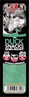 Лакомство для собак Alpha Spirit Snacks Duck 35 г