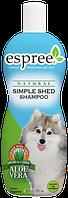 Шампунь для собак и котов Espree Simple Shed Shampoo 355 мл