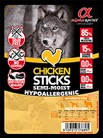 Лакомство для собак Alpha Spirit Sticks Chicken 40 г х 4 шт