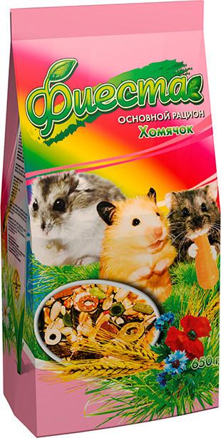 Корм для хомяков и декоративных мышей Природа Фиеста Хомячок 650 г