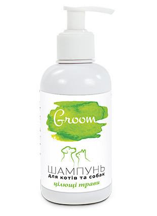 Шампунь для кошек и собак Природа Groom Лечебные травы 270 мл
