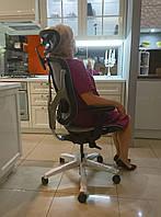 GTChair Vida V7-A - кресло с удобными эргономичными настройкам и эксклюзивным, динамичным дизайном, серое