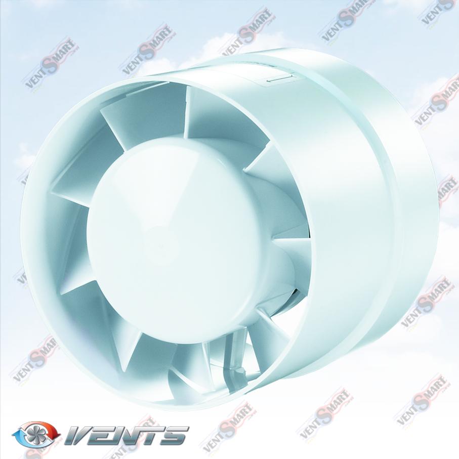 ВЕНТС 100 125 150 ВКО ― внешний вид (фото) осевого канального вентилятора для приточно-вытяжной вентиляции в ванной, санузлк, душевой, на кухне