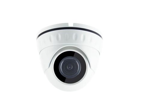 AHD 2Мп видеокамера купольная уличная 3.6мм DT