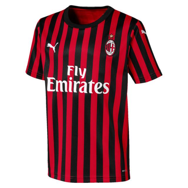 Футбольная форма Милан (AC Milan), дом/красный сезон 19/20