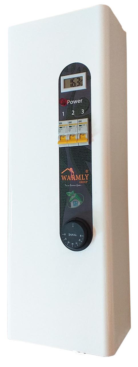 Электрокотел Warmly Classik М 12 кВт 380в. Модульный контактор (т.х)