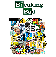 Набор наклеек Во все тяжкие / Breaking Bad 25шт.