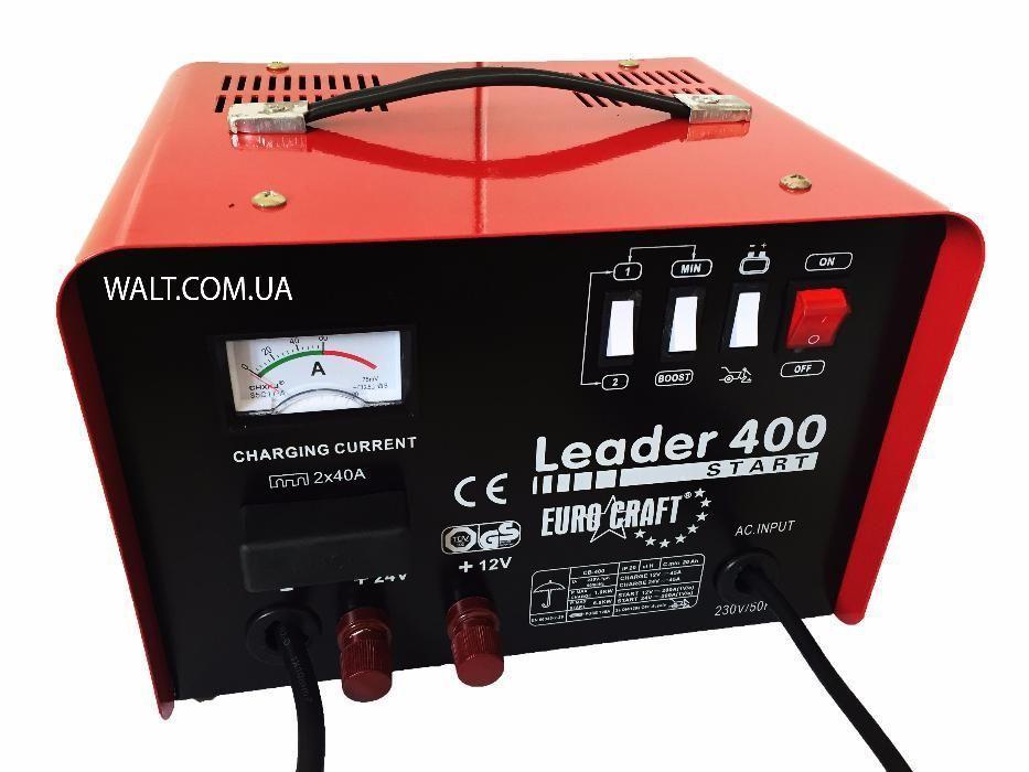 Пуско-зарядное устройство Euro Craft 100A Leader 400