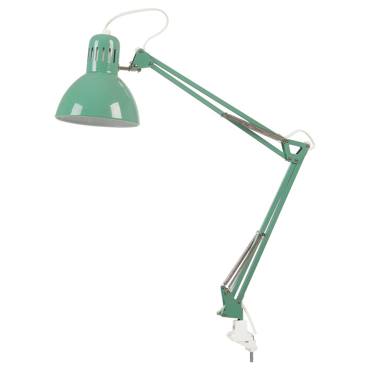 Лампа рабочая IKEA TERTIAL светло-зеленый 704.472.19