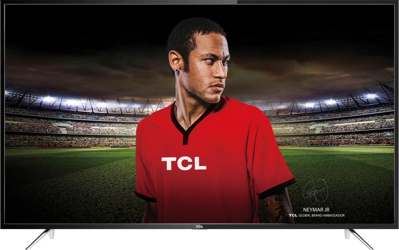 Телевизор TCL U55P6026 (РРI 1200Гц, UltraHD 4K, Smart, Android,Dolby Digital Plus2х10Вт,DVB-С/T2/S2)