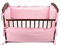 Гр Защита в кроватку МБ/40/002 - цвет розовый