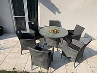 Набор садовой мебели из ротанга стол и 6 кресел!, фото 1