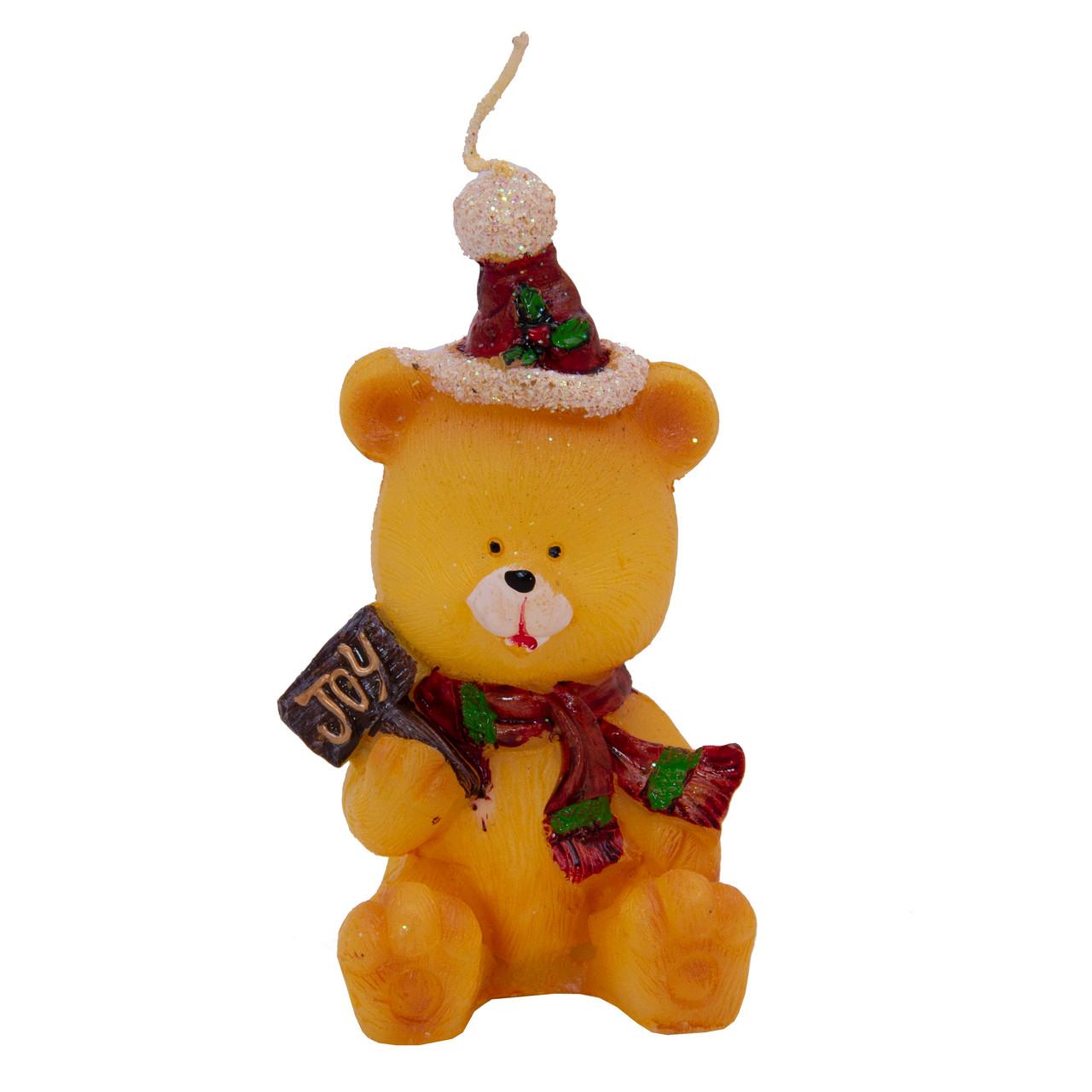 Свечка декоративная Медведь, 10, 2см (441068-2)