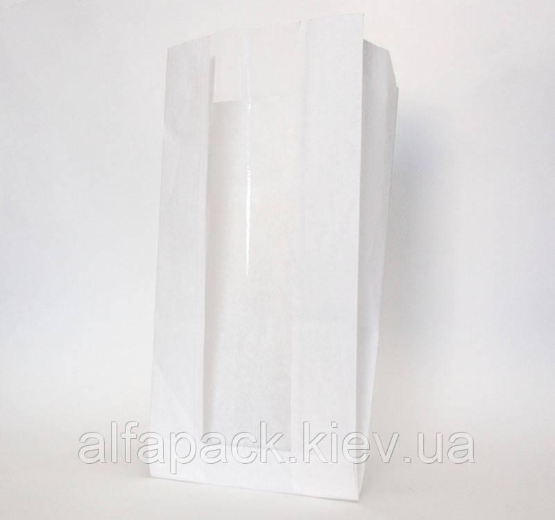Пакет саше бумажный белый 390х140х50/60 мм