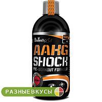 Аминокислота BioTech AAKG Shock Extreme 1000 мл