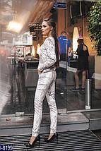 Бархатный спортивный костюм женский, фото 3