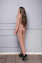 Флисовый спортивный костюм женский, фото 2