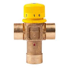 """🇮🇹 Термостатический клапан-смеситель 1"""" (30-60С) Kv 3, ICMA №S101"""