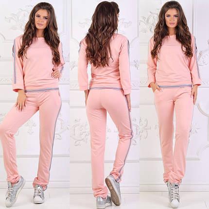Розовый спортивный костюм, фото 2