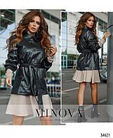 Куртка №722-1-графитовый Размеры 42-44,44-46,